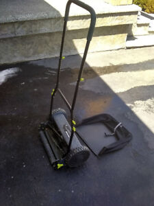 "Pro-pulse push 16"" manual reel mower"