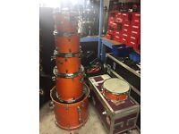 Mapex m-birch 6-piece drum kit