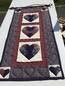 Hand quilted hanging