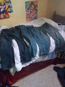 3 pairs of 30x30 jeans