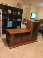 Tv Stan and stereo cabinet