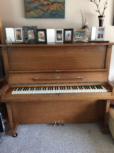 Beautiful Upright Piano