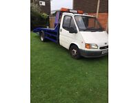 Ford transit recovery2.5 bannana engine