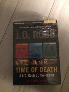 A JD ROBB audio collection TIME OF DEATH