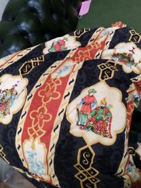 Curtains. Beautiful, very heavy fleece lined curtain. Quality rarel