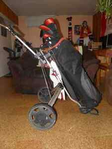 Matched Wilson Golf Set with Golf Cart and other goodies. Edmonton Edmonton Area image 2