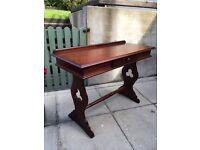 Mahogany hall /side table