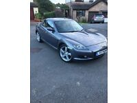 Mazda rx8 41 k Mazda service history full heated leather etc..outstanding condition