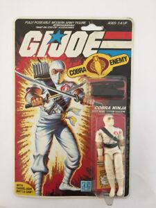 GI Joe Storm Shadow action figure MOC 1984