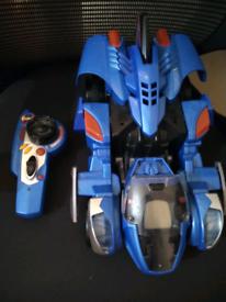 Dino Transforming RC racing toy