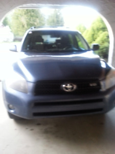 2007 Toyota RAV4 Sport model SUV, Crossover (mileage correction)