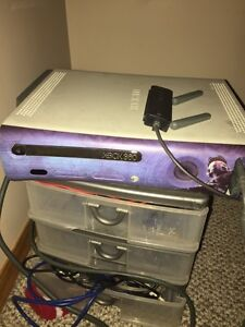 Xbox 360 with games and controllers Strathcona County Edmonton Area image 1