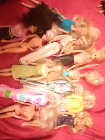 Joblot of barbies lots of vintage one overs 50 of them