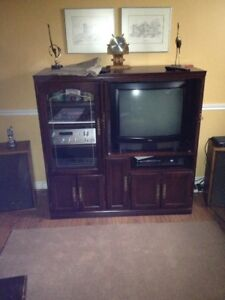 Stereo Cabinet/Bedroom furniture