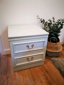 Lovely Upcycled bedside table in great condition