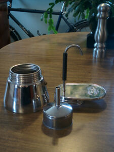 GSI STAINLESS STEEL ESPRESSO MAKER