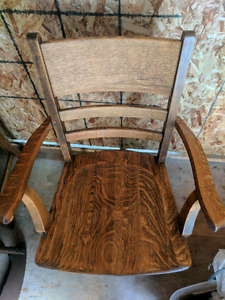 SOLID OAK END GRAIN KING CHAIRS!