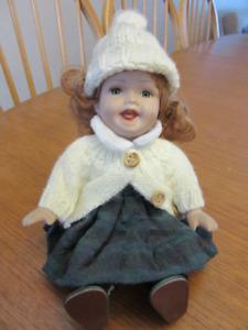 Irish or Anne of Green Gables doll