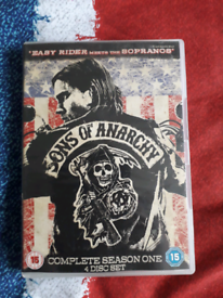 Sons of anarchy...4 disc set