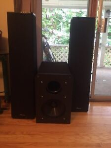 Mirage Speakers and Nuance Subwoofer