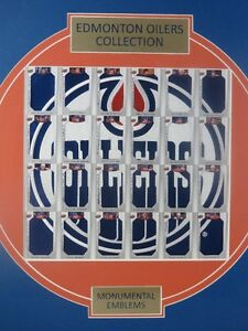 2013-2014 Edmonton Oilers Collection Monumental Emblems, Gretzky Edmonton Edmonton Area image 8