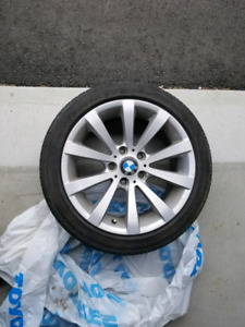 Bmw Original Mags with Tires
