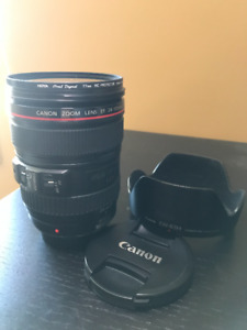 Canon 24-105mm F4 - with HOYA lens protector