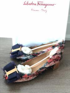 Authentic brand new Salvatore Ferragamo Marlia 30 shoes Size 7C