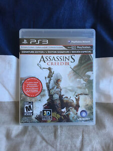 Assassin's Creed 3 $15 OBO