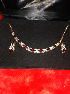 Genuine Garnet Set