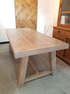 Open Box Furniture – SAVE on SOLID WOOD Tables