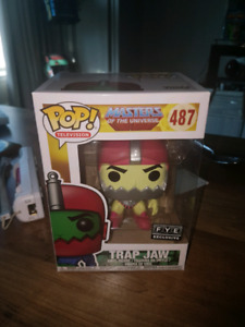 FUNKO POP MASTERS OF THE UNIVERSE FYE EXCLUSIVE TRAP JAW!