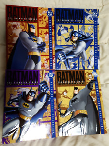 Batman: The Animated Series Complete Set. Vol. 1 - 4. Like NEW!