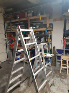 "6ft-12ft Dual purpose ladder, ""A frame"" to extension position.."