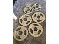 Trigrip Olympic Iron Plates (4x 2.5kg, 2x 1.25kg)