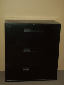 3-Tiered Horizontal Filing Cabinet