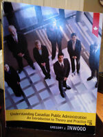 UPEI Canadian Public Administration Textbook - P ST 311