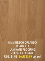 Clearance Sale – Hardwood, Laminate and Engineered Flooring