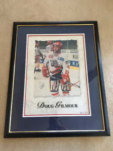 Doug Gilmour signed & framed print