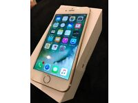 IPhone 6 64gb Unlocked boxed Gold