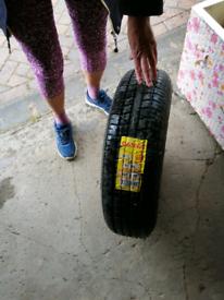 Tyre brand new