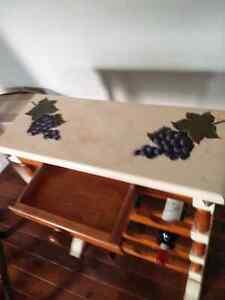 Wooden wine rack Kitchener / Waterloo Kitchener Area image 2