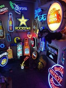 Neon beer signs $100 and up