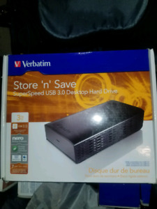 Store and save &store and go portable harddrive
