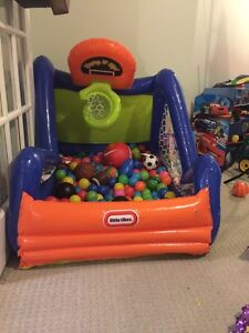 Little tikes ball pit asking 25