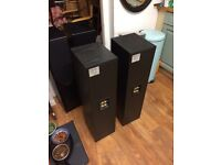 Pair of mission black 702e top quality speakers