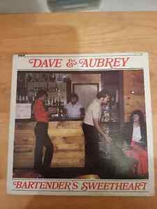 VINTAGE RECORD DAVE AND AUBREY. BARTENDERS SWEETHEART St. John's Newfoundland image 1