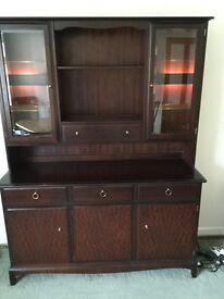 Stag dark wood dresser/sideboard