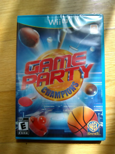 New sealed Game Party Champions game for WiiU