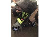 Phil & Teds Explorer single Pushchair boxed and complete with all extras